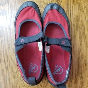 Merrell Pure Glove Red Performance Footwear SZ 8